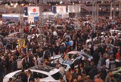 1 belgrade bilshow Arkivbilder