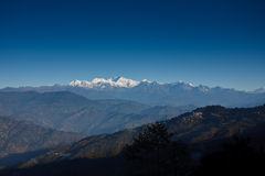1 berg sikkim Royaltyfri Bild