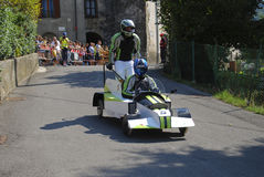 1° Berzo Soap Box Derby Royalty Free Stock Image