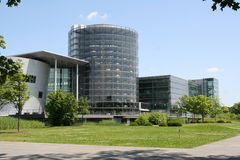 1 bilfabrik Arkivbilder