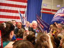 1 Bill Clinton hillary ohio Royaltyfria Bilder