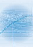 1 binära kod Arkivbild