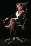 (1) biznesowa kobieta Obrazy Royalty Free