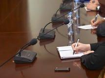 (1) biznesowy biurka writing Zdjęcie Royalty Free