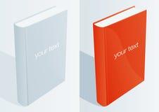 1 blanka bok stock illustrationer