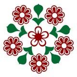 1 blommaprydnad royaltyfri fotografi