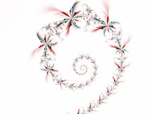 1 blommaspiral Royaltyfri Fotografi