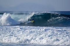 1 bodyboarder Royaltyfria Bilder