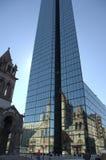 1 boston reflexionshorisont arkivfoton