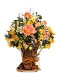 1 bouquet. Bouquet of flowers in a vase Royalty Free Stock Photo