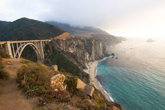 1 bridge california coast route Στοκ Εικόνες