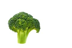 1 brokkoli 免版税库存照片