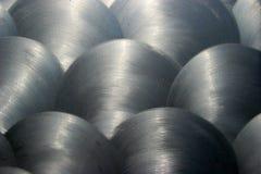 1 brushed metal texture Στοκ Φωτογραφίες