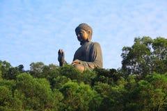 1 buddha Hong Kong Royaltyfri Foto