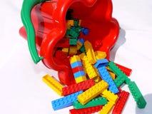 1 budować bloki Obraz Stock