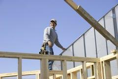 1 budowa domu Zdjęcie Stock