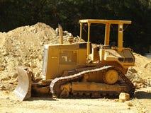 1 bulldozer Arkivfoto