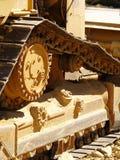 1 bulldozerdetalj Royaltyfria Foton