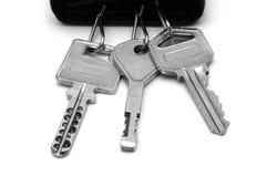 1 bunch keys Στοκ φωτογραφία με δικαίωμα ελεύθερης χρήσης