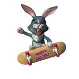 1 bunny Πάσχα RAD Στοκ φωτογραφίες με δικαίωμα ελεύθερης χρήσης