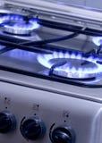 1 burning gas Royaltyfri Fotografi