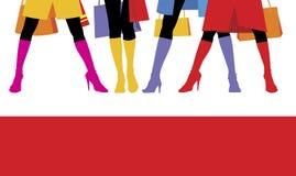 (1) buty żeńscy Ilustracja Wektor