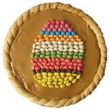 1 cake easter Arkivfoton