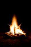 1 campfire royaltyfri fotografi