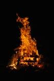 1 campfire Royaltyfria Foton