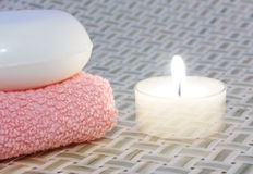1 candle3 Стоковое Фото