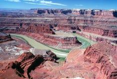 1 canyonlands Юта Стоковые Фотографии RF