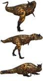 1 carnotaurus 库存图片