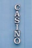 1 casino sign Στοκ Φωτογραφία