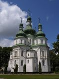 1 cathédrale vieille Image libre de droits