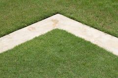 (1) cementowa trawa Obrazy Royalty Free