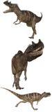 1 ceratosaurus 库存照片