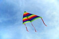 1 cerf-volant coloré Photographie stock