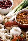 1 chili домодельный Стоковые Изображения RF