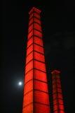 1 chimney industial Στοκ φωτογραφία με δικαίωμα ελεύθερης χρήσης