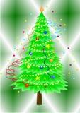 1 christmas tree Στοκ φωτογραφίες με δικαίωμα ελεύθερης χρήσης