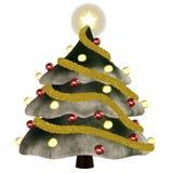 1 christmastree 库存照片