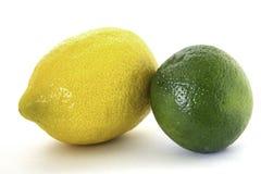 1 citronlimefrukt royaltyfri bild