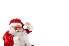 1 claus santa snowman Royaltyfri Fotografi