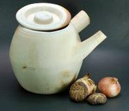 1 clay chińskie zioło Zdjęcie Stock