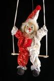 1 clown royaltyfri foto
