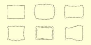 1 collection frames unusual Стоковые Изображения RF