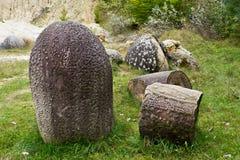 1 concretioncostesti trovant romania Arkivbild