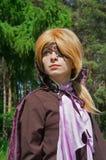 1 cosplay νεολαία γυναικών Στοκ εικόνα με δικαίωμα ελεύθερης χρήσης