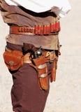 1 cowby射击 库存照片
