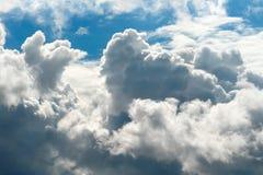 1 cumulus royaltyfria foton